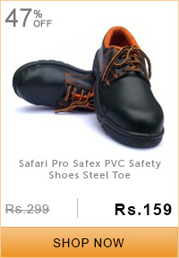 Safari Pro Safex PVC Safety Shoes Steel Toe