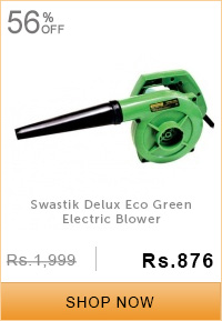 Swastik Delux Eco Green Electric Blower