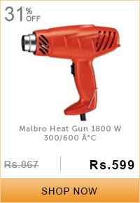 Malbro Heat Gun 1800 W 300/600