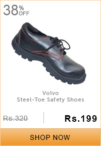 Volvo Steel-Toe Safety Shoes