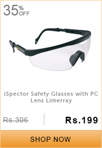 iSpector Safety Glasses with PC Lens Limerray